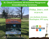 St. Cloud Commons All-Inclusive Playground Groundbreaking Ceremony June 1