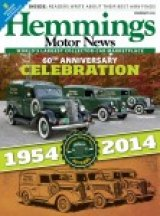 PARALLEL UNIVERSE: Hemmings Motor News, 'Bible' of Car Collectors,  Marks 60th Anniversary