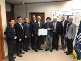 Marshall signs agreement with South Korean university