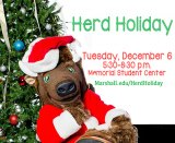 Community invited to annual Herd Holiday celebration Dec. 6