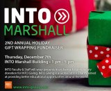 INTO Marshall to wrap gifts for donations