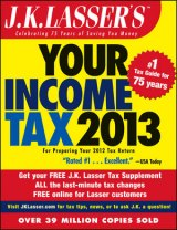 BOOK REVIEW: 'J.K. Lasser's Your Income Tax 2013': Yes, You Can (Do Your Own Taxes!)