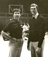 From Left: Joedy Gardner and Jerry West