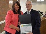 Marshall names Mitzi Meade Employee of the Year