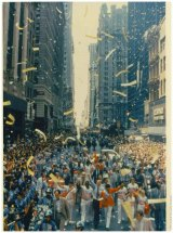 SPORTS OP-ED:  The New York City Ticker-Tape Parade That Nearly Didn't Happen