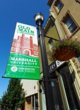 Old Main Corridor Banners on Sale