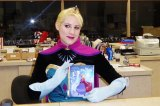 """Elsa"" Visits Children at South Charleston Library  IMAGES"
