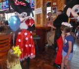 Rooster's Hosts Princess Night with Mickey and Minnie Mouse IMAGES