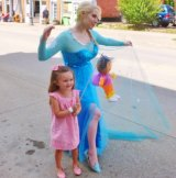 Come and Be 'Frozen' by Elsa at Art Walk; Pullman Concert Series Follows