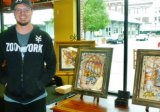 Frazer Art Walk Artist of Month Appears at Empire Books