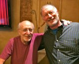 Peter Yarrow, left, and Bruce Sallan