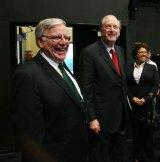 Dr. Kopp with Sen. Rockefeller