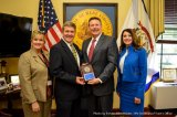 Secretary Warner Presents Stephen Christian with National Award for Business Development