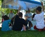 300 area elementary students study science at Marshall's Sky Festival