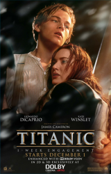 Titanic Returns to the Big Screen for 20-Year Anniversary in Exclusive Dolby Cinema at AMC Engagement