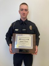 Marshall University Police Officer Earns Top Academic Honor at Academy