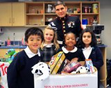 Marshall, Marines, St. Joe Participate in Toys for Tots