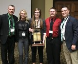 Athletic training students bring home first place in WVATA Quiz Bowl