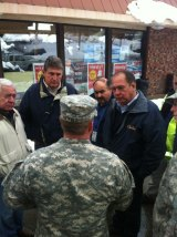 Manchin, Tomlin, Rahall Assess Storm Damage