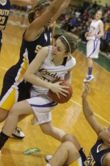 St. Joe Lady Irish Wins Over South Point