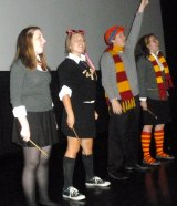 MARQUEE PULLMAN: Potter Flash Mob Performance