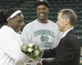 Senior Tynikki Crook Honored with Marshall Win Over Southern Miss