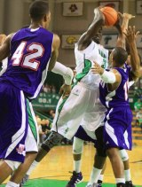 Thundering Herd's Basketball Team Keeps Winning at Cam