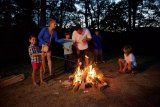 Campfire Stories at Twin Falls Resort State Park Captivate the Imagination in September 2017