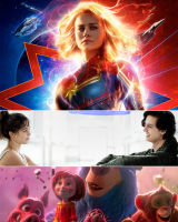 """NEW ON SCREEN...  Mar-Vell Slashes Records Trounces Wonder Woman; """"Captive State,"""" """"Five Feet Apart"""" Unlikely to Dethrone Her"""