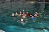 Coast Guardsman teaches water rescue to cub scouts in South Texas