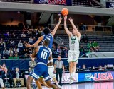 Men's Basketball Goes Wire-To-Wire in First Round Win Over Rice