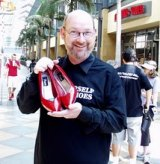 Founder of Walk a Mile with Red Pumps