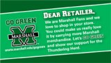 'Go Green' program gives Herd fans opportunity to encourage local retailers to carry Marshall gear