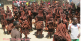 Himba protest against hydro dam in Namibia(Photo © Earth Peoples)