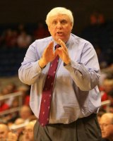 Donor Jim Justice coaching high school basketball
