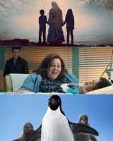 "NEW ON SCREEN... ""Breakthrough"" Miracle, Supernatural ""Curse"" and Arctic "" Penguins"" open  for Easter"