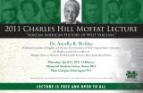 Dr. Ancella R. Bickley to deliver Moffat Lecture at Marshall