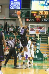 IMAGE GALLERY: Marshall Rises Past High Point