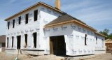 New home under construction in Louisiana -- David M. Kinchen photo