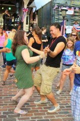 DOG FLASH DANCE: A Patio Party at Heritage Village