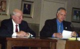 Mayor Wolfe, Deron Runyon (file photo)