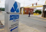 Informational Pickets Set up at Special Metals; Company Reportedly Cancels Employees Health Insurance  IMAGES