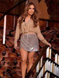 American Idol's Jennifer Lopez Gets Surprise