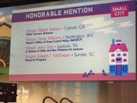 BREAKING... Mayor's Office of Drug Control Policy Gains Honorable Mention at Indianapolis Conference