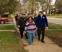 Walk with the Mayor Begins, Highlawn Next