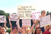 Women Diplomatically Proclaim Body Equality, Free Choice in Charleston