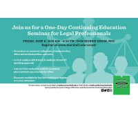 Marshall University to offer seminar with continuing education credits for attorneys