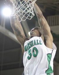Marshall Playing in CIT; Faces OU Tuesday in Henderson Center