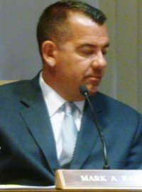 Council Chairman Mark Bates