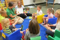 Speech and Hearing Center holds 'Tiny Talkers' programs for children with speech disorders